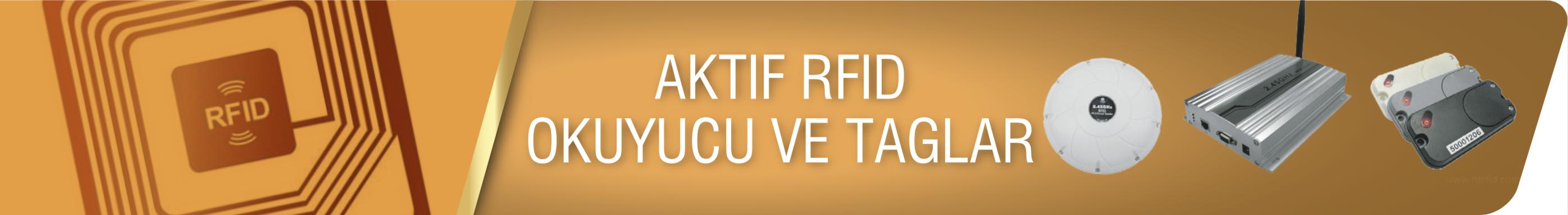 Aktif RFID Okuyucular